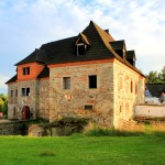 Burg Wildstein (Skalná), Vorburg