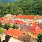 Altstadt von Elbogen (Loket) an der Eger