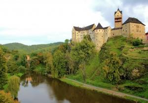 Burg Elbogen (Loket) an der Eger