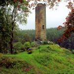 Burg Neuberg (Podhrady), Bergfried