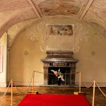Waltsch (Valec), Innernaum im Schloss