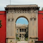 Dolmabahce Palast, inneres Tor