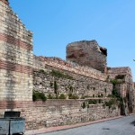 Landmauer, Stadtseite