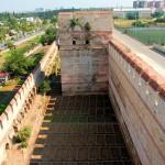 Landmauer, Vor- und Hauptmauer