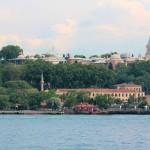 Topkapi-Palast vom Bosporus