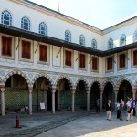 Topkapi-Palast, Hof im Harem