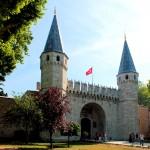 Topkapi-Palast, Tor des Friedensgrußes