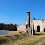 Yedikule, Sieben-Türme-Festung, Ruine der Moschee