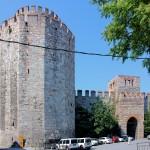 Yedikule, Sieben-Türme-Festung, Stadtseite