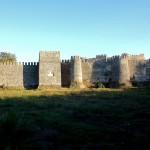 Anamur, Mamure Kalesi, Landseite