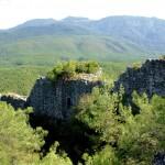 Cardakkale, Burgmauer