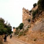Cursat, Kozkalesi, Burgmauer