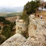 Gülekkale, Burgmauer mit Wehrturmne