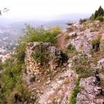 Lampron, Burgmauer