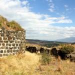 Toprakkale, innere und äußere Burgmauer