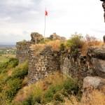 Toprakkale, Burgmauer
