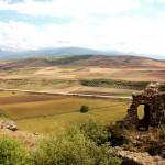 Toprakkale, Blick vom Burgberg in die Ebene