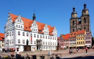 Marktplatz der Lutherstadt Wittenberg