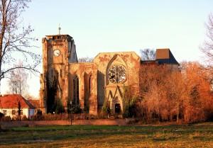 Ev. Pfarrkirche Wachau, Ansicht von Süden