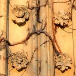 Pfarrkirche Wachau, Detail Portal (Zustand Dezember 2013)