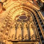 Pfarrkirche Wachau, Portal (Zustand Dezember 2013)