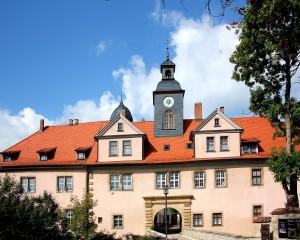Schloss Tenneberg bei Waltershausen. Landkreis Gotha
