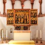 Wechselburg, Stiftskirche, Altar