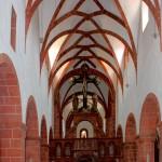 Wechselburg, Stiftskirche, MIttelschiff