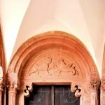 Wechselburg, Stiftskirche, Tympynon