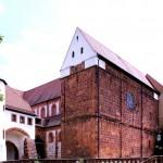 Wechselburg, Stiftskirche, Westfront