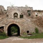 Burg Wendelstein, Oberes Schloss, Hofseite