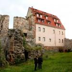 Burg Wendelstein, Unterburg und Westflügel