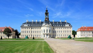 Jagdschloss Hubertusburg in Sachsen