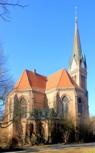 Leipzig, Zentrum-West, Ev. Lutherkirche